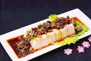 簡単にてきる一品★ピータン豆腐★