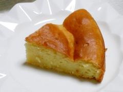 ホットケーキミックスとお豆腐のケーキ