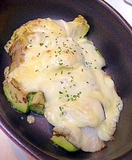 【糖質制限】アボカドとカレイのこってりチーズ焼き