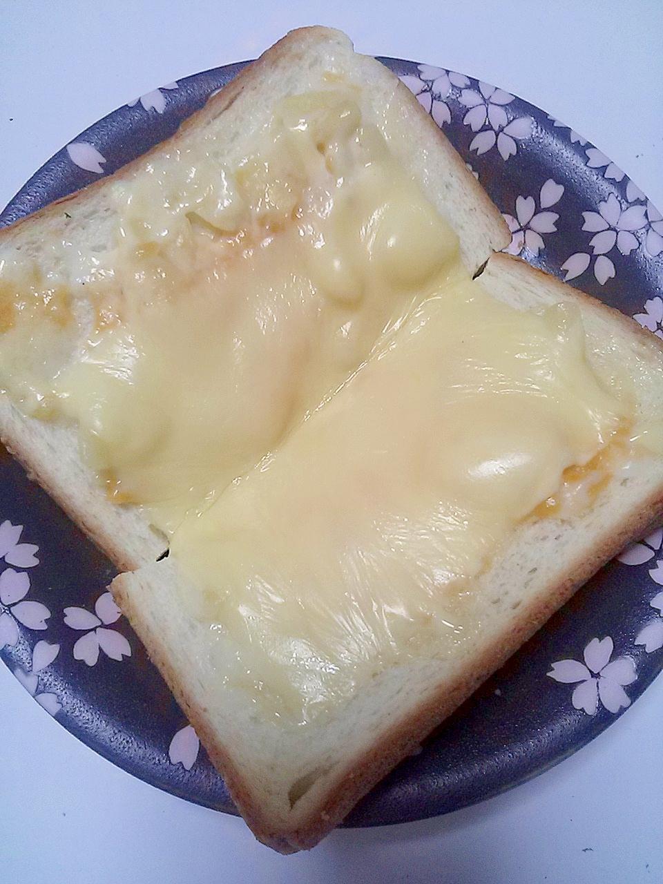 お弁当用グラタンde!チーズトースト
