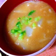 コロコロ蕪のきな粉本葛スープ