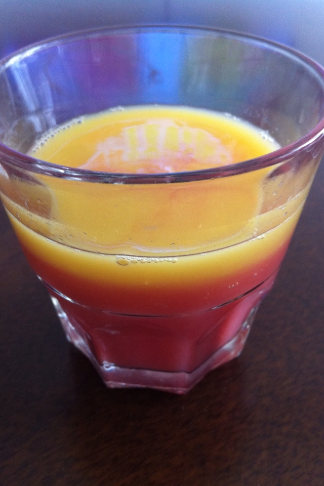 ざくろオレンジジュース