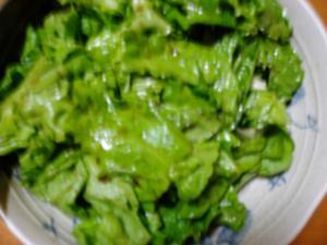 リーフレタスの中華サラダ