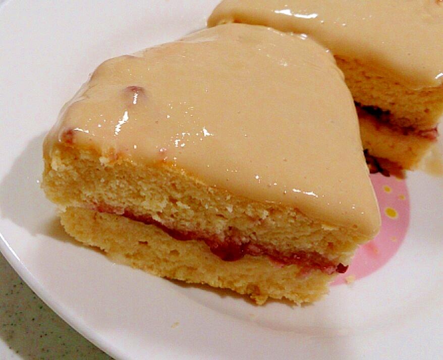 【糖質制限】卯の花★490kcal豆乳ジャムケーキ