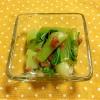レンチンですぐできる!チンゲン菜の梅おかか和え♪