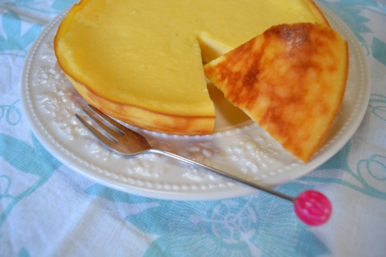 炊飯器で作る簡単チーズケーキ