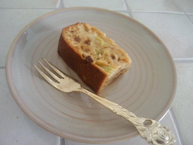 HBルバーブパウンドケーキ