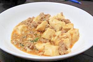 挽き肉たっぷり!がっつり麻婆豆腐