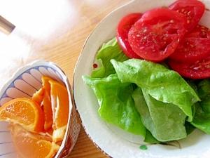 サラダ菜トマトバジル風味