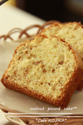 HMで簡単☆くるみのパウンドケーキ レシピ・作り方 by KOJIKAmama|楽天レシピ