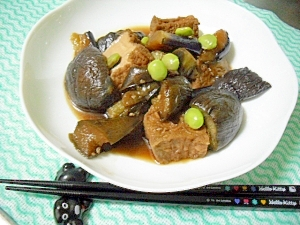夏バテ気味の胃腸にやさしい煮物を**