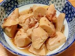 めんつゆ使って、簡単。タケノコの土佐煮(おかか煮)