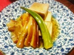 簡単♪ 高野豆腐とナスのとろみ煮★