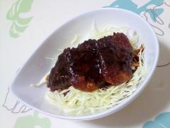 名古屋風♪味噌カツ丼++