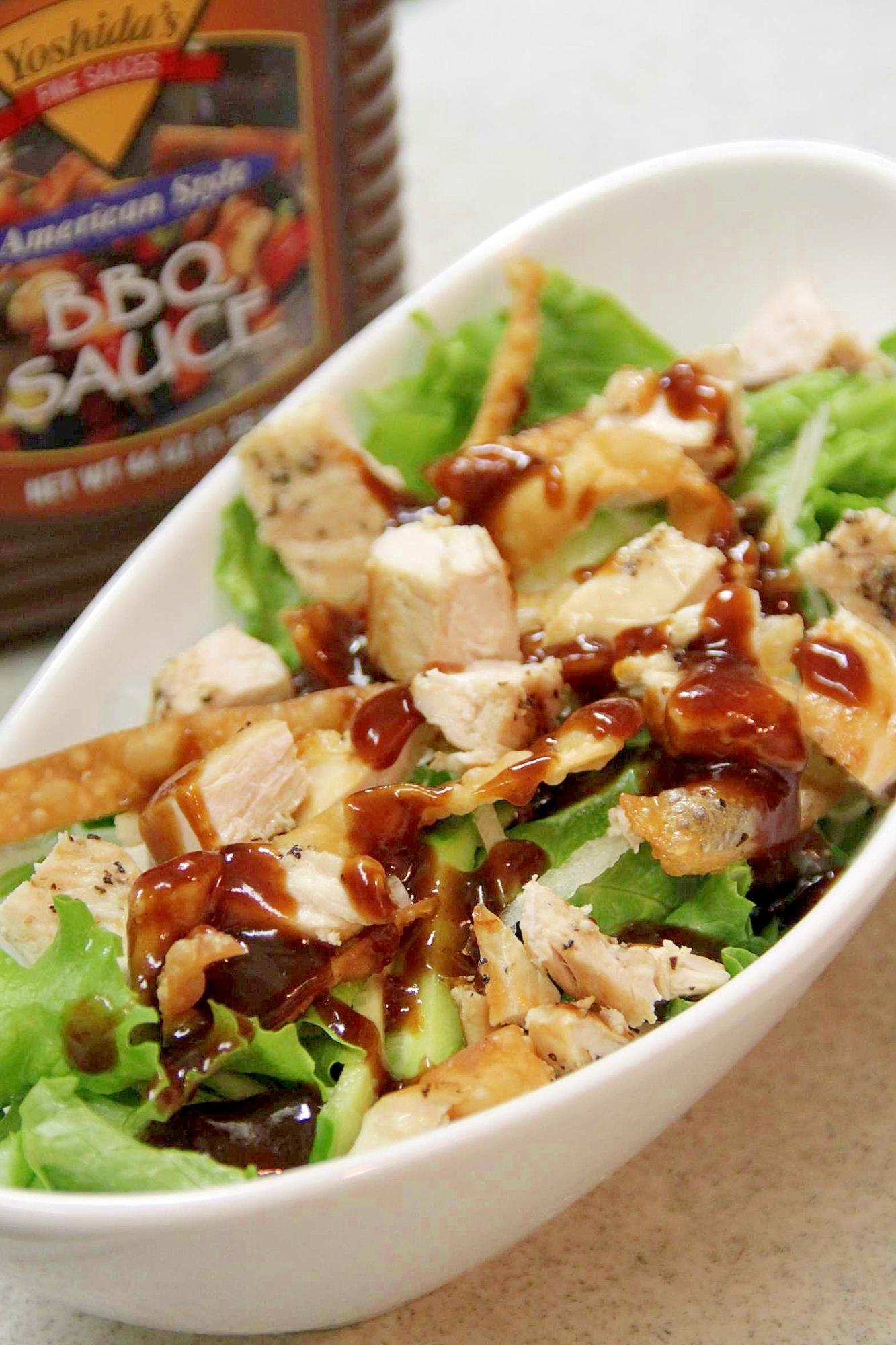 アメリカンテイストの『BBQサラダ』 レシピ・作り方 by ★☆ ひで ☆★|楽天レシピ