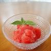 トマトの天然シャーベット♪