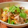 ヤムウンセン風 豚肉と野菜の春雨炒め