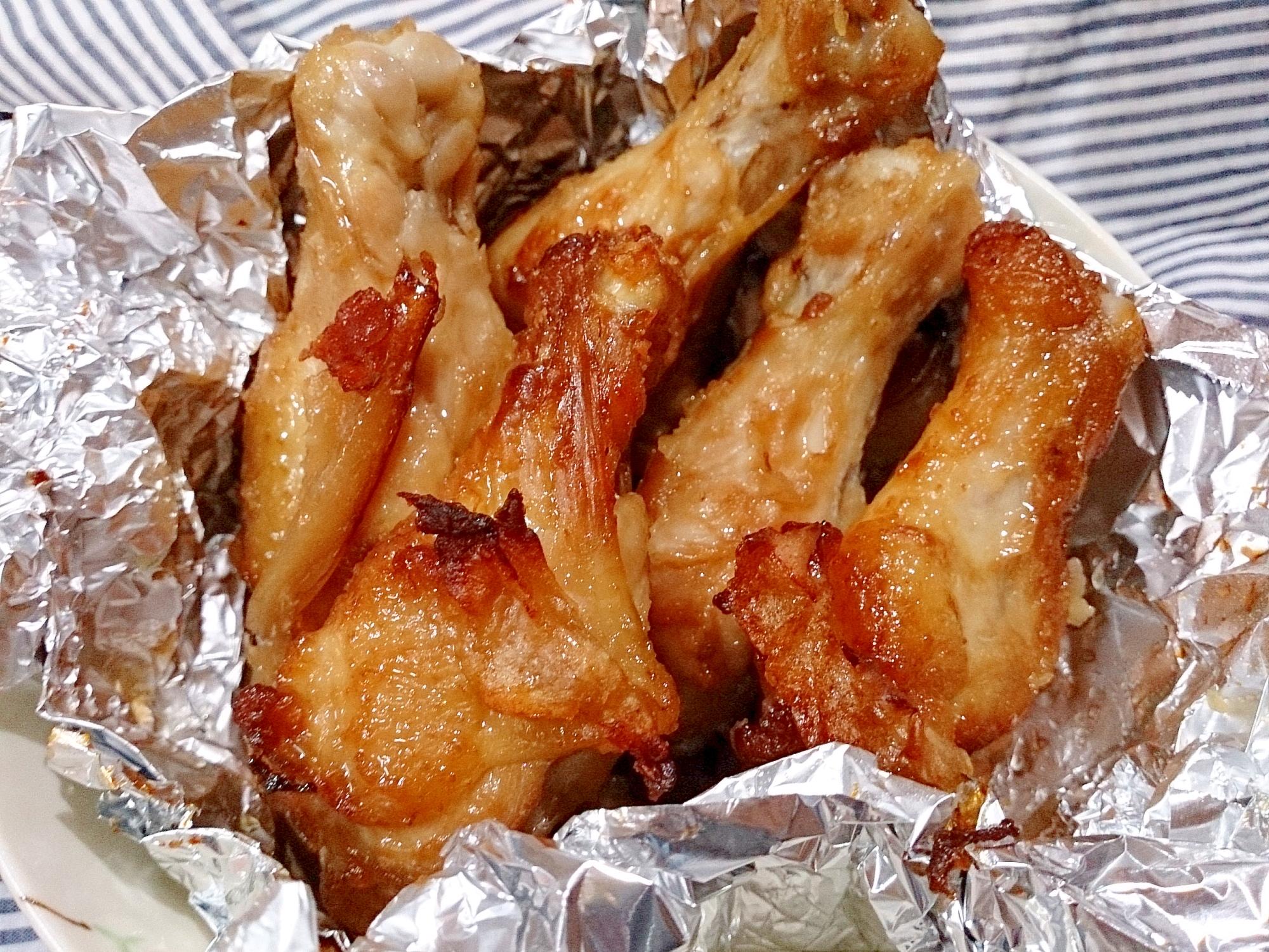鶏の手羽元の甘酸っぱ唐揚げ(ノンフライヤー)