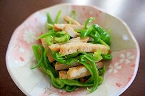 シンプルが美味しい☆じゃこ天とピーマンの炒め物 レシピ・作り方 by vickyvicky|楽天レシピ