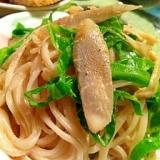 根菜と春キャベツの和風うどんサラダ