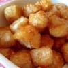 食べだすと、とまらない*里芋から揚げの甘辛*