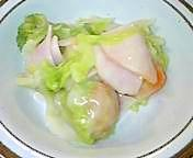 シチューの素de簡単!白菜のクリーム煮風