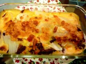 白菜と合挽きミンチのクリームトマトミルフィーユ☆