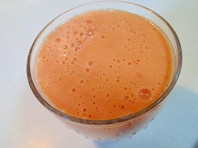 トマトと南瓜とミルクシャーベットのジュース♪