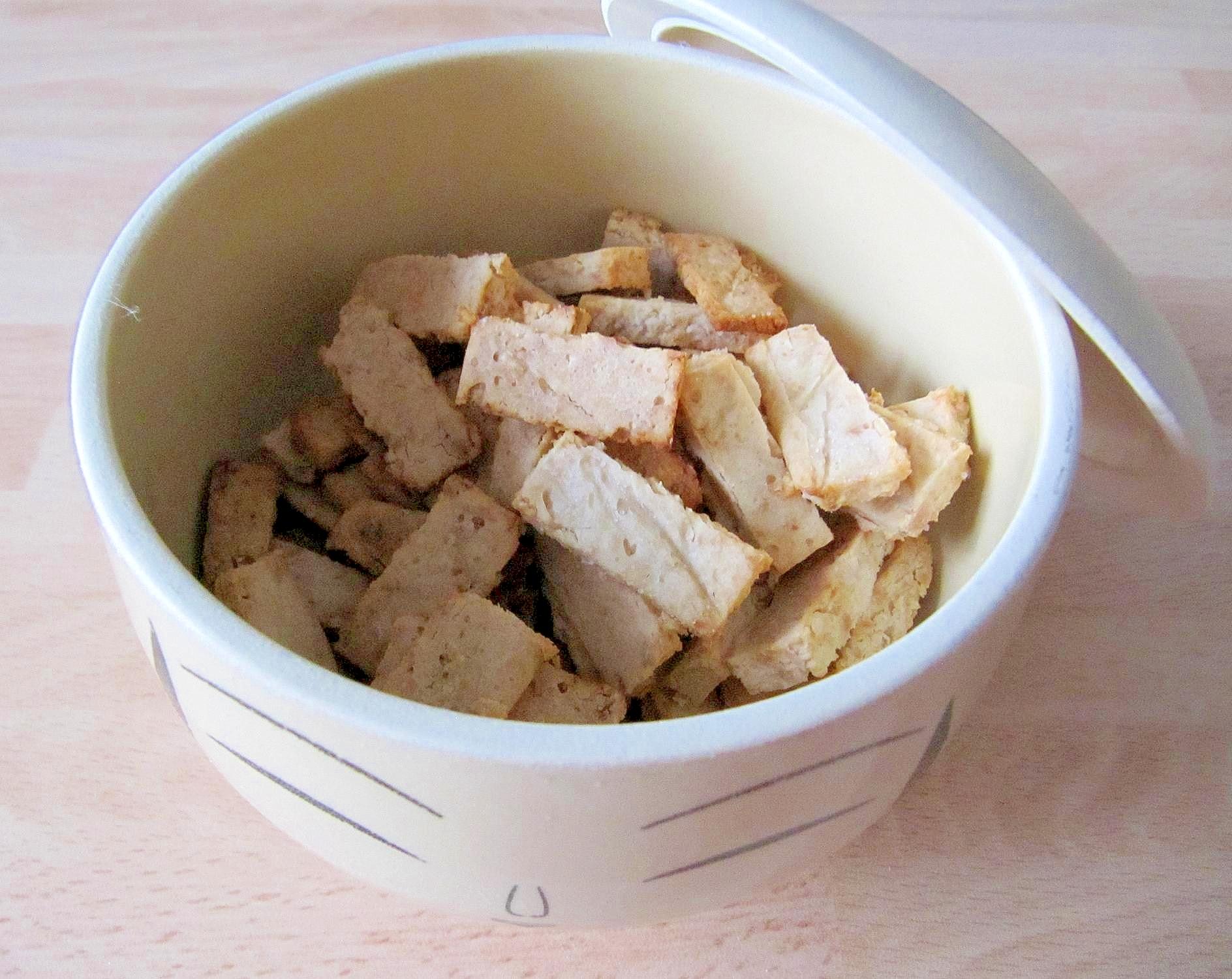 白玉粉で揚げないピーナツ煎餅