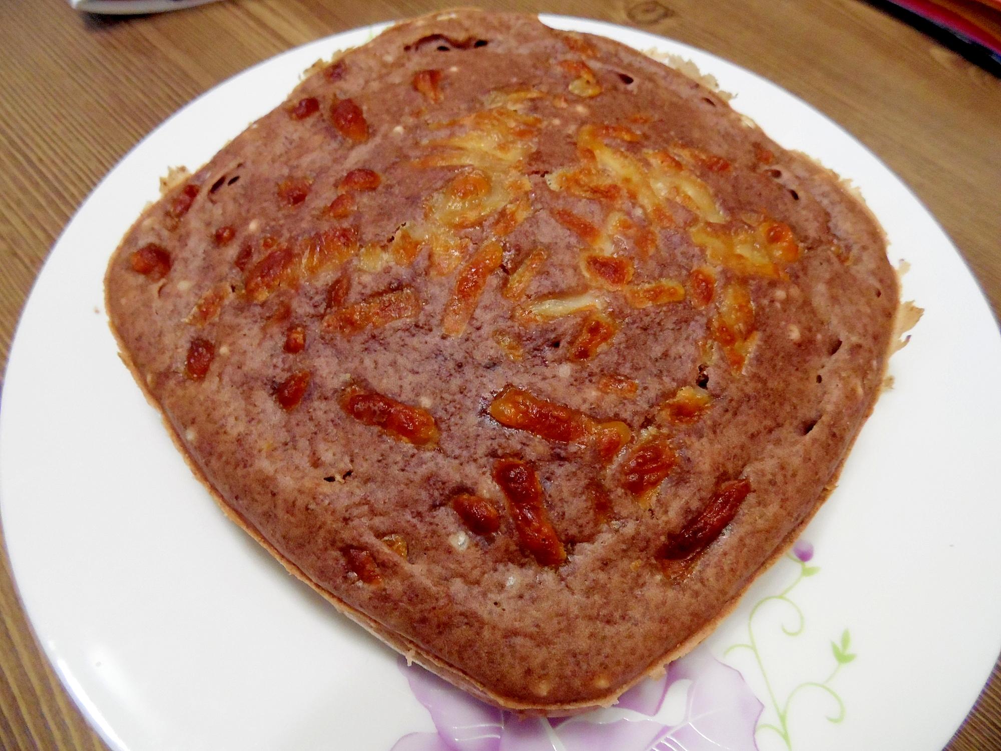 ノンフライヤーで簡単ココアチーズパン