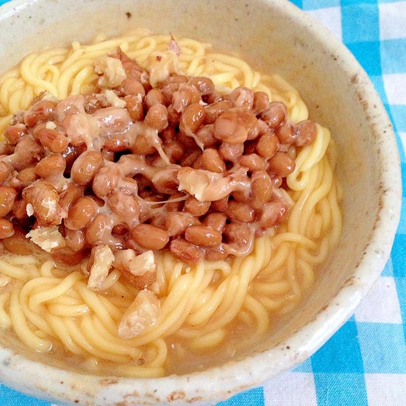 納豆のこんにゃく麺★ レシピ・作り方 by はなはなりんご|楽天レシピ