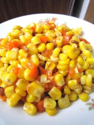 松の実とコーンの炒め物(松仁玉米)