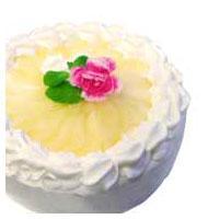 缶詰で作る、洋ナシのケーキ