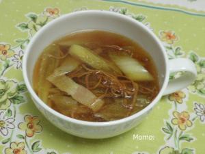 白菜の薬膳スープ