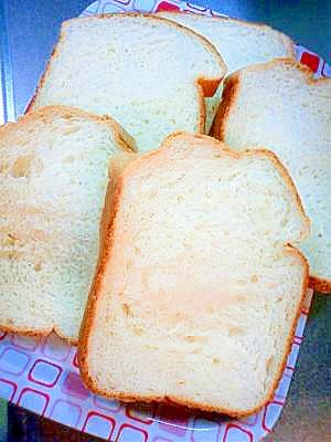 デニッシュ風の食パン♪ホームベーカリーにお任せ!