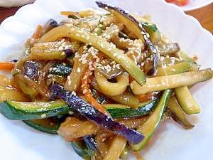 ズッキーニと茄子のオイスター炒め レシピ・作り方 by 根岸農園|楽天レシピ