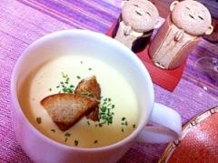 安納芋の優しい和風しょうゆ糀ポタージュ