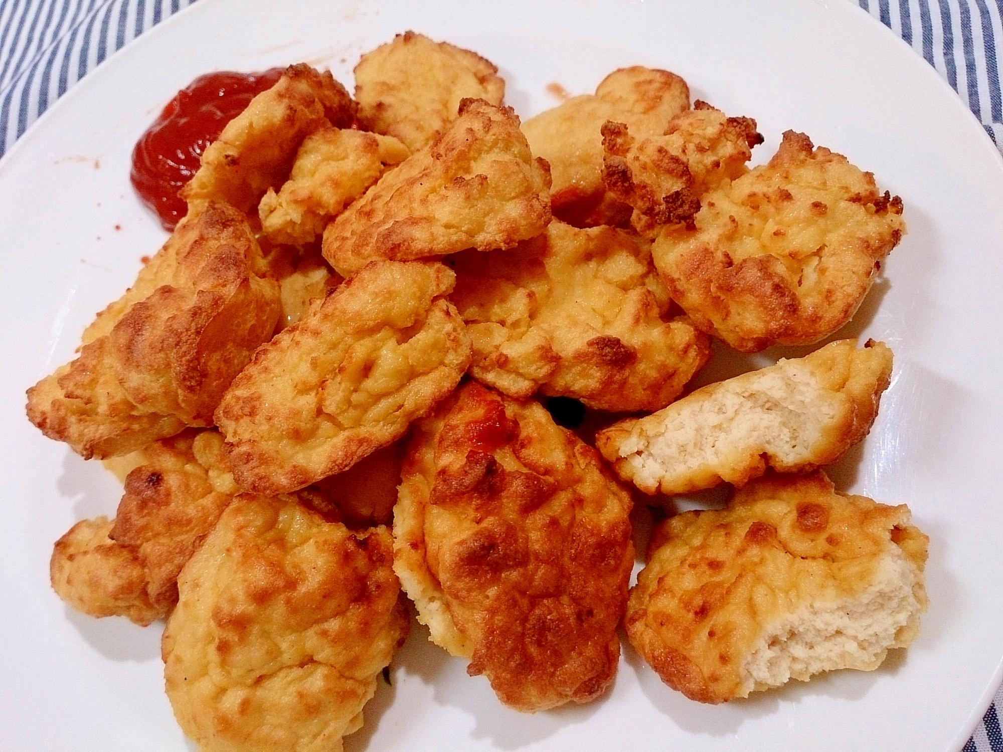 冷凍豆腐のふわふわ豆腐ナゲット(ノンフライヤー)