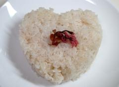 【Booのてきとーなレシピ】ハートの桜ごはん