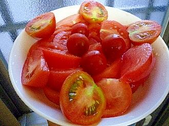 トマト&ミニトマト&ミディトマトサラダ