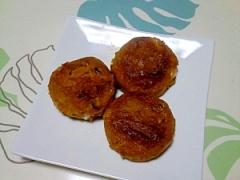 煮物リメイク!かぼちゃのチーズ入りおやき++