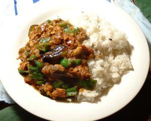 レトルトキーマカレーで簡単 なすピーマンカレー レシピ・作り方 by ブラックはやて|楽天レシピ