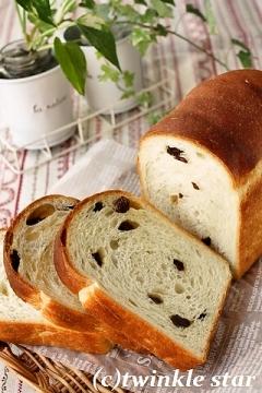 カリフォルニア・レーズンのワンローフ食パン