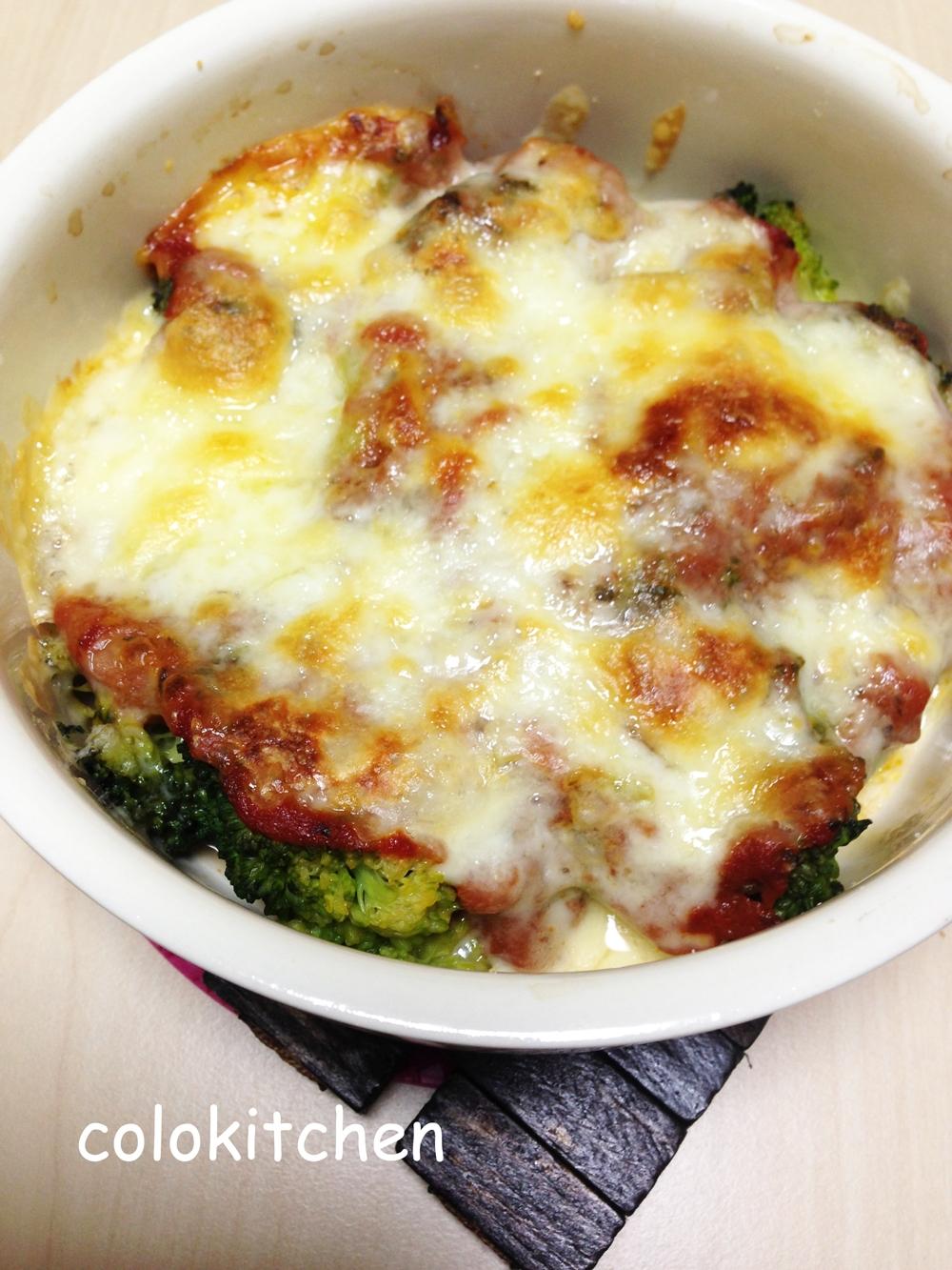 ブロッコリーとピザソースのチーズ焼き レシピ・作り方 by COLO4586|楽天レシピ
