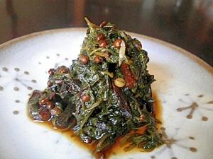 山の幸を食べよう☆山椒の粒でピリッと辛い佃煮風