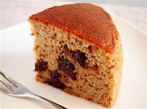 卵・乳製品不使用。「プルーンと紅茶のケーキ」