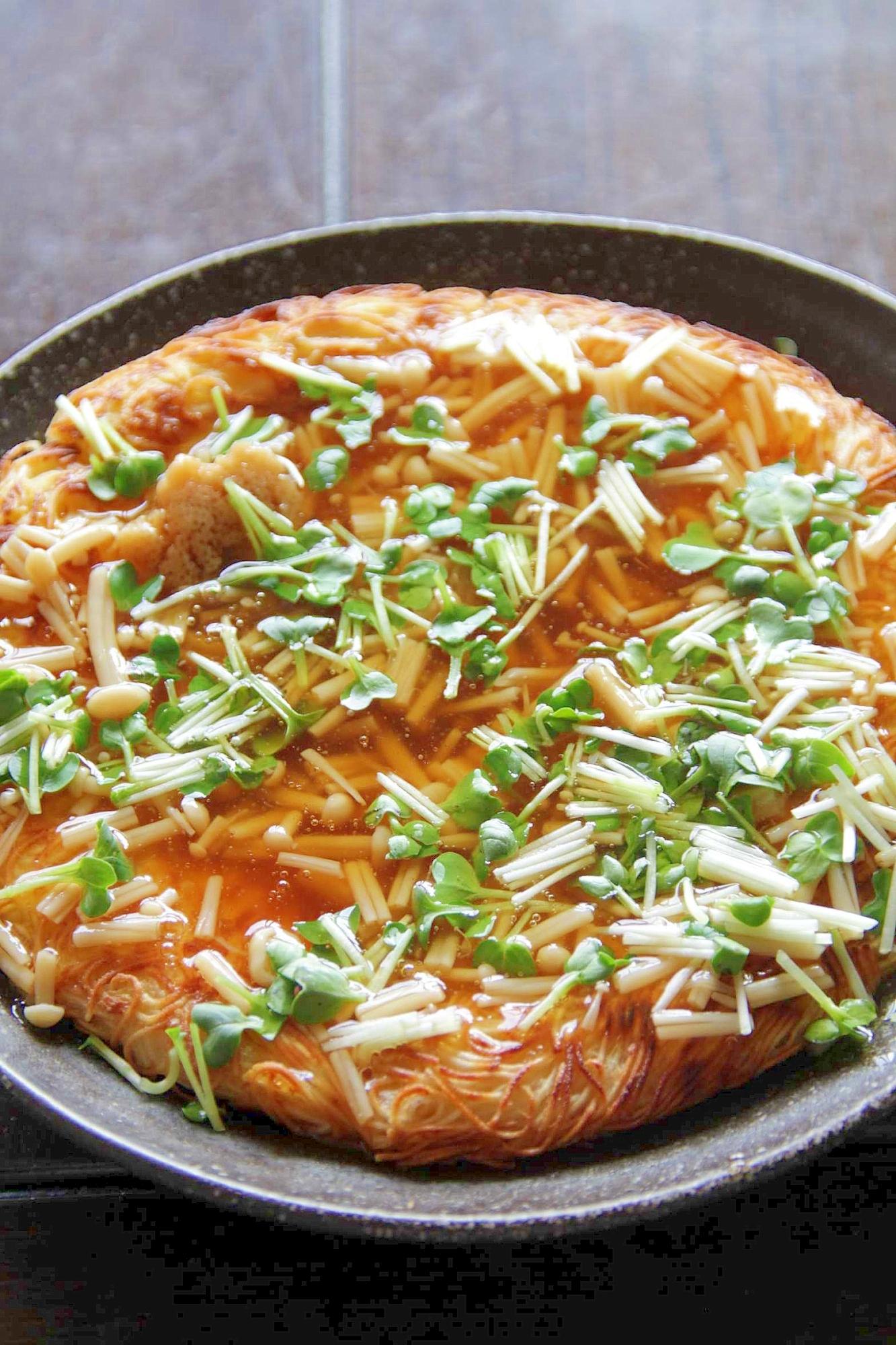 あまった素麺でも作れます『固焼きそうめん』 レシピ・作り方 by ★☆ ひで ☆★|楽天レシピ