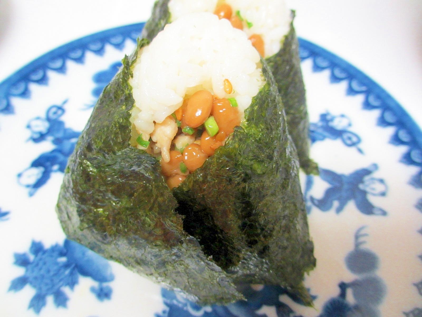鳥取県スタミナ納豆おにぎり