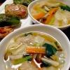ワンタンスープです☆いっぱい食べたい!温かスープ♪