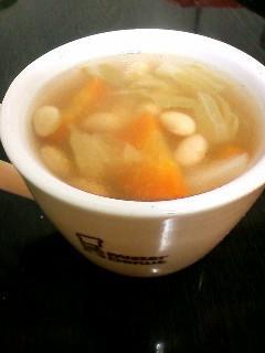 手抜き★ダイエット用ささみと野菜のコンソメスープ